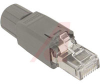 RJ 45 Quickon Plug Connector Cat5 IP20 w/ fast connection sys 8 pos 26-22 awg -- 70169695