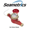 SeaMetrics Hot Water Meters MJH Series: Bronze Body