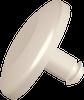 1/32 Mini Rivet Quick Binders, Nylon, Natural -- APQBMMR125032N