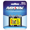 Alkaline Batteries, 9V, 2/Pack -- A1604-2 - Image