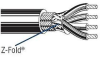 Computer Cable 5C Overall Foil and Braid Shield 22 AWG -- 78991491059-1