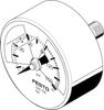 Pressure gauge -- MA-50-145-R1/4-PSI-E-RG -Image