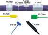 Plastic Cable Ties : Plastic Cable Ties One Piece : Marker/Flag Ties -- PL2M2S-D