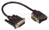DVI-D Single Link LSZH DVI Cable Male / Male Right Angle, Left, 10.0 ft -- DVIDS-RA3Z-10 -Image