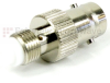 BNC Female (Jack) to FME Female (Jack) Adapter, Nickle Plated Body -- SM6150 - Image