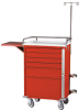 30 Inch Cabinet Six Drawer Emergency Cart Specialty Pac.. -- E30-6EMS