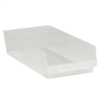 17 7/8in x 8 3/8in x 4in Clear - Plastic Shelf Bin Boxes -- BINPS113CL