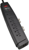 7-Outlet Home/Business Theater Surge Protector, 6-ft. Cord, 2100 Joules, Tel/Modem/Coax Protection -- HT706TSAT