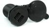 Blue Sea Systems 1045B Fast Charging Dual USB Socket - Bulk Packaging -- 78037B -Image