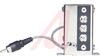 Transformer, Input/Line;Plug-In;Pri:10 K Ohms;Sec:600 Ohms;1.73V (Output);+/-2dB -- 70146557 - Image