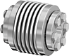 Backlash-Free Metal Bellows Coupling Series AK -- AK 1400 - Image