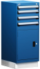 L Cabinet with Partitions, L3 Lock, with Base (18