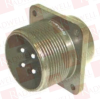 CIRCULAR CONNECTOR, RECEPTACLE, SIZE 22, 4 POSITION, BOX MILITARY SPECIFICATION:MIL-DTL-5015 SERIES CIRCULAR CONNECTOR SHELL STYLE:BOX MOUNT RECEPTA -- MS3102E2222P