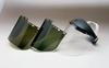 "Huntsman Faceshields - 8154 LB Dark green, unbound > SIZE - 8""x15 1/2""x.040"" > STYLE - 24/Bx > UOM - Each -- 3000130 -- View Larger Image"