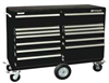 Rolling Cabinet,57-1/4 x20x43-1/2 In,Blk -- 33M660