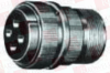 CIRCULAR CONNECTOR PLUG, SIZE 18, 6 POSITION, CABLE MILITARY SPECIFICATION:MIL-DTL-5015 SERIES CIRCULAR CONNECTOR SHELL STYLE:STRAIGHT PLUG NO. OF -- MS3106A1812P