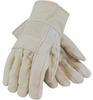 PIP 94-924R White Universal Cotton Canvas Hot Mill Glove - 616314-04131 -- 616314-04131