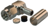 SMA Male, Right Angle, Crimp Attachment For RG55, RG58, RG142 & RG400 -- 11-SMA105 -Image