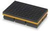 Vibration Isolation Pad,8x8x1 1/4 In -- 2LVP4