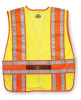 Safety Vest,Blue,XL/2XL,Polyester -- 3NFX2