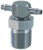 "1/8"" NPT to 3/32"" ID Hose Swivel -- SP0-3003 -Image"
