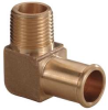 Hose Barb,90 Deg,1/2 In,1/2 MNPT,Brass -- 6AFL1 - Image