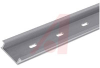 DIN Rail; Aluminum; Gray; Height 10.49 mm; Width 35 mm; Length 1 m; Snap Mount -- 70174925