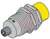 Sensor, Inductive; M12 x 1; 10 to 30 VDC; 200 mA (Max.); 500 Hz; Brass -- 70034968