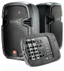 Portable Self-Powered 10†Two-Way system with detachable powered mixer -- EON 210P