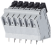 Spring Clamp Solderable Terminal Blocks -- AST175