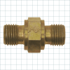 Compression Type Hydraulic Fittings -- Double Port Fitting