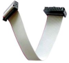 TE CONNECTIVITY / AMP - NE1034-18-ROHS - RIBBON CABLE, IDC/PIN CONN 34WAY 18IN GRY -- 536270