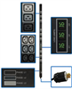 TAA Compliant 3-Phase Metered PDU, 11.5 KW, 45 240V Outlets (36 C13, 9 C19), NEMA L22-20P 415V Input, 0U Vertical Mount -- PDU3XMV6L222TAA