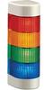LIGHT TOWER,4 - LIGHT,24V AC/DC,RED,YELLOW,GREEN,BLUE,WALL MOUNT -- 70038772