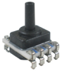 TruStability® HSC Series-High Accuracy, ±1% total error band, digital SPI, SMT, LN: single axial barbless port, gage, 0 psi to 1 psi, 3.3 Vdc, dry gases only, diagnostics on -- HSCMLND001PGSA3
