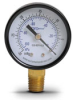 -30 to 0 inch Hg Vacuum Pressure Gauge with 2.0 inch mechanical dial -- G20-BDV-4LB - Image