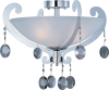 Cyclone 3-Light Semi-Flush Mount -- 22321FTPC