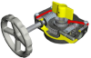 FB Series Quarter-Turn Gearbox -- FB10