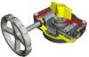Quarter-Turn Fire Protection Worm Gear Operator -- FB Range -Image