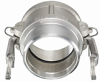 Stainless Steel 316 Part B Female Couplers -Image