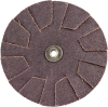 Merit AO Coarse Grit Overlap Slotted Disc -- 8834184000 - Image