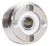 Coaxial Adapter, F-Male / UHF Female -- BA130 -Image