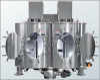 Double Blade Mixers -- Vertical Twin Shaft Mixers