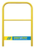 Platform Handrail,Aluminum,Use w/10A460 -- 10A461
