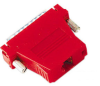 Red Modular Adapter Kit DB25 Male to RJ45 Female -- FA4525M-RD -- View Larger Image