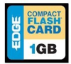 EDGE Digital Media Premium - flash memory card - 1 GB - CompactFlash -- EDGDM-188993-PE