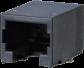 PC SMT RJ12 Board Jack -- AJS57A6613