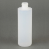 Ellsworth EA-1/2PT24 Polyethylene Squeeze Bottle Cylinder Narrow Mouth Opaque 8 oz -- EA-1/2PT24 -Image
