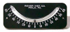 "Manual ""Ball-in-Tube"" Inclinometer -- 2055E Inclinometer"