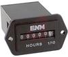 Hour Meter, Quartz, 1.43W x .92H x 2.13D, <.4 W, 115 VAC, AC, water seal,6 digit -- 70000798 - Image